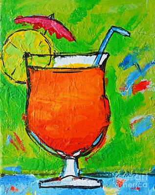 Bahama Mama - Tropical Drink Original by Patricia Awapara