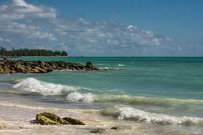 Sky Photograph - Bahamas Beach by Zina Stromberg