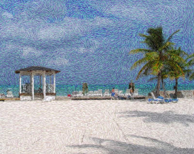 Lanscape Digital Art - Bahamas by Julie Niemela