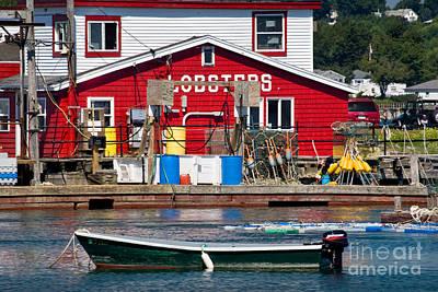 Bailey Island Photograph - Bailey Island Lobster Pound by Susan Cole Kelly