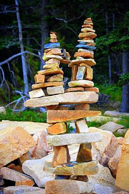 Balance Print by Linda Bourie