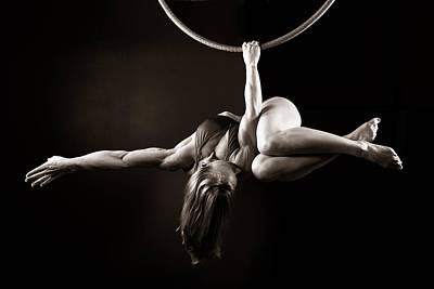 Gymnast Photograph - Balance Of Power 2011 Meathook by Monte Arnold