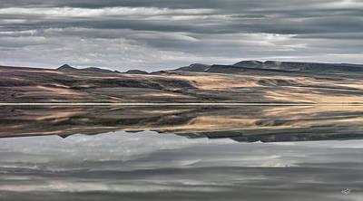 Mystic Lakes Photograph - Balanced Reflection by Leland D Howard