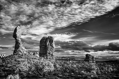 Balanced Rock And Friends Print by Jon Glaser