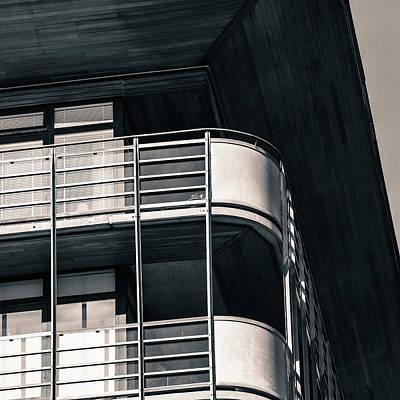 Digital Art - Balconies by Toppart Sweden