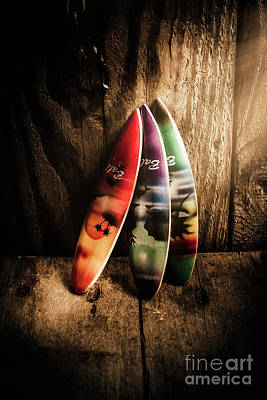 Surfboards Photograph - Bali Beach Surf Holiday Scene by Jorgo Photography - Wall Art Gallery