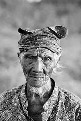Bali Photograph - Bali Fisherman by Mike Reid