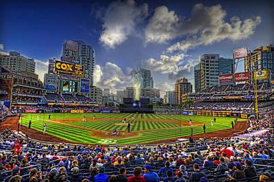 San Diego Padres Stadium Photograph - Ball Park by Corey Gautereaux