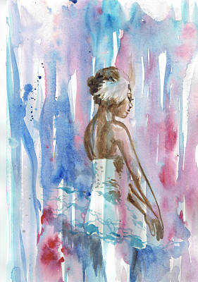 Ballerina Painting - Ballerina 3 - By Diana Van by Diana Van