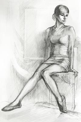 Ballerina Original by Natoly Art