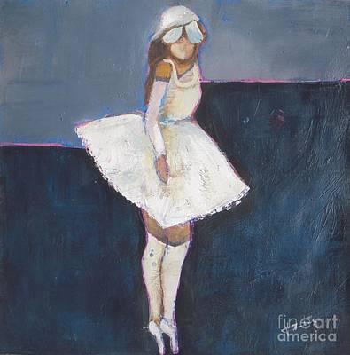 Ballet Painting - Ballerina by Vesna Antic