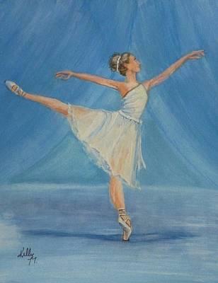 Ballet Blues Original by Kelly Mills
