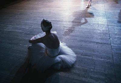 Ballet Rehearsal, St. Petersburg Print by Sisse Brimberg