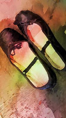 Ballet Slippers Print by Bonnie Bruno