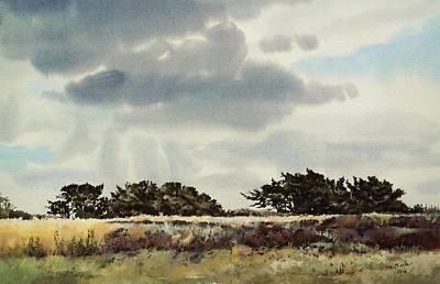 Balloerveld, Distant Junipers Original by Mineke Reinders