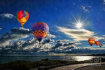 Photograph - Balloon Rides by Andrea Kollo