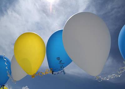 Balloons Print by Patrick M Lynch