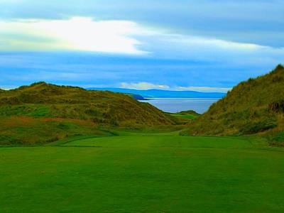Golf Photograph - Ballybunion Cashen Course by Scott Carda