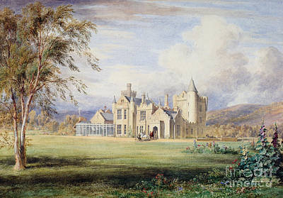 Scottish Drawing - Balmoral Castle by James Giles