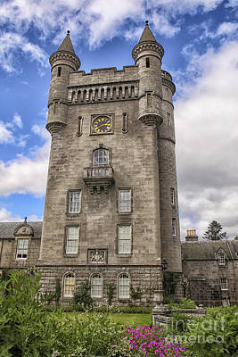Balmoral Castle Tower Print by Patricia Hofmeester