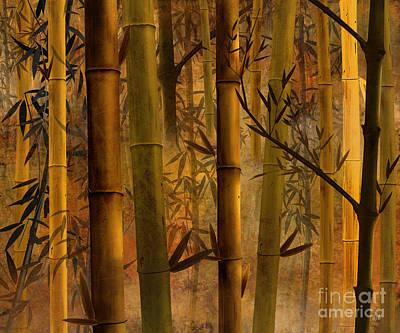 Peru Digital Art - Bamboo Heaven by Bedros Awak