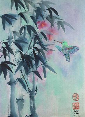 Buddhist Painting - Bamboo Sweet by Marilyn Allysum