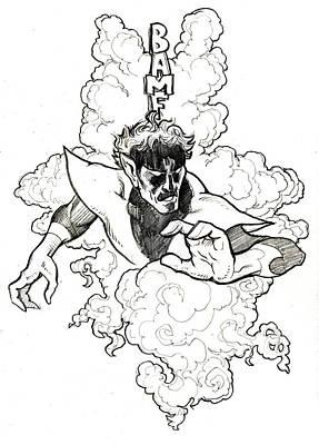 Bamf Print by Donald Jackson