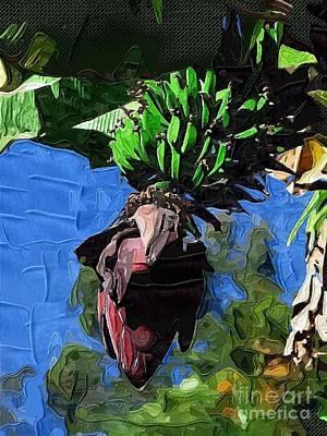 Banana Tree Painting - Bananas Bananas Oh I Love Bananas by Deborah MacQuarrie-Haig