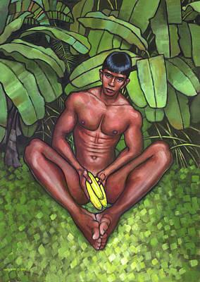 Bananas Original by Douglas Simonson
