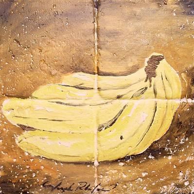 Painting - Bananas by Joseph Palotas