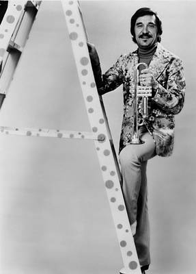 Johnny Carson Photograph - Band Leader Doc Severinson 1974 by Mountain Dreams