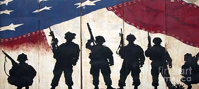 Band Of Brothers - Operation Iraqi Freedom Print by Unknown