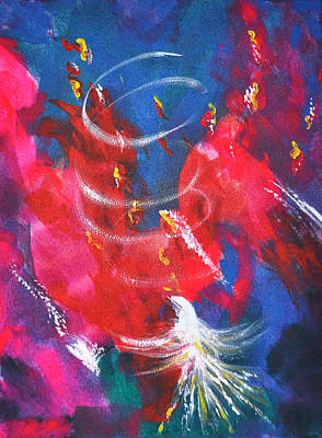 Baptism Of Fire Print by Denise Warsalla