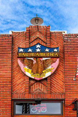 Photograph - Bar Of America by Bill Gallagher