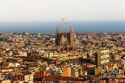 Barcelona Mixed Media - Barcelona by Svetlana Sewell