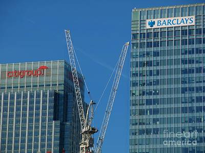 Barclays And Citigroup Print by John G Kavanagh
