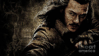 Celebrities Photograph - Bard The Bowman by Prarthana Kulasekara