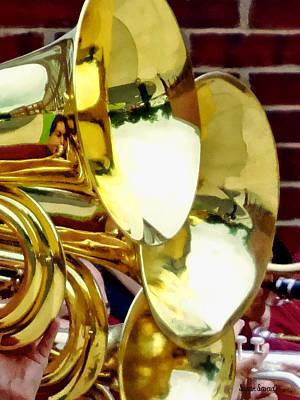 Baritone Horns Print by Susan Savad