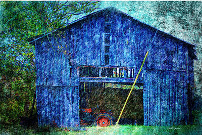 Barn-94 Print by EricaMaxine Price