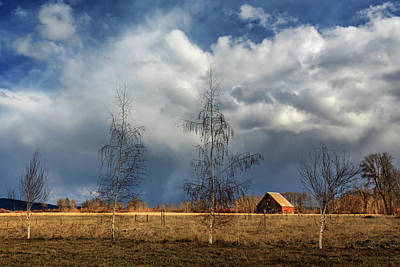 Barn Storm Print by James Eddy