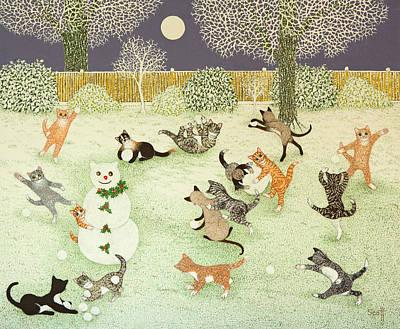 Barn Storming Print by Pat Scott