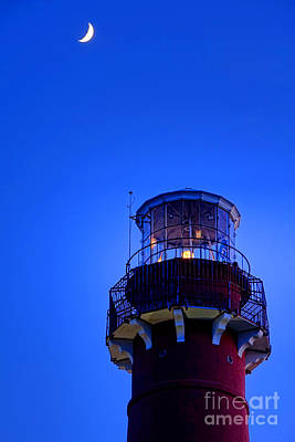 Guiding Light Photograph - Barnegat Moonlight by Olivier Le Queinec