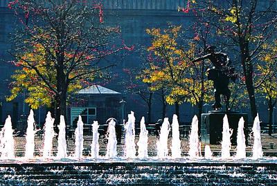 Barney Allis Plaza-kansas City Original by Steve Karol