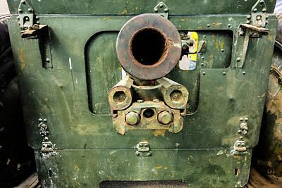 Military Photograph - Barrel Rusty Self-propelled Guns by Elena Ivanova