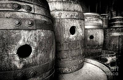 Laugh Photograph - Barrels Of Laugh Past  by Olivier Le Queinec