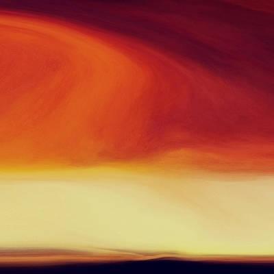 Eternity Digital Art - Barren Lands by Lonnie Christopher