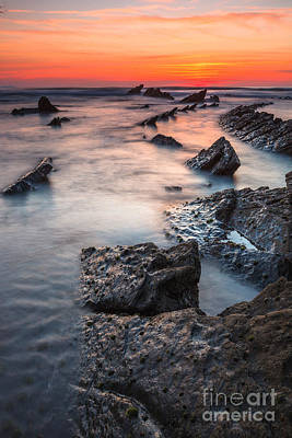 Barrika Sunset Original by Sergio Lanza