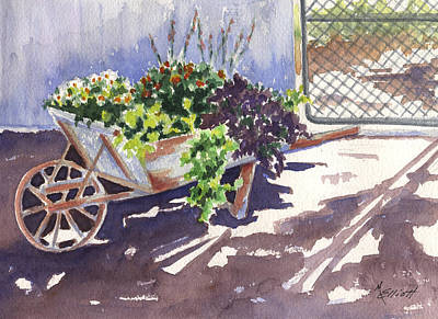 Garden Gates Painting - Barrow by Marsha Elliott