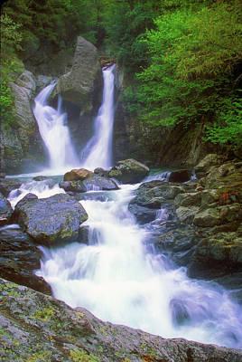 Bash Bish Falls Photograph - Bash Bish Falls by John Burk