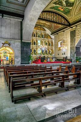 Basilica Minore Del Santo Nino Print by Adrian Evans